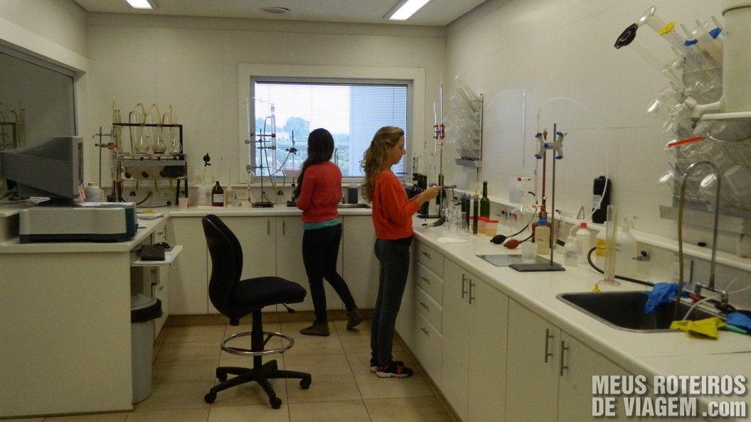 Laboratório da bodega