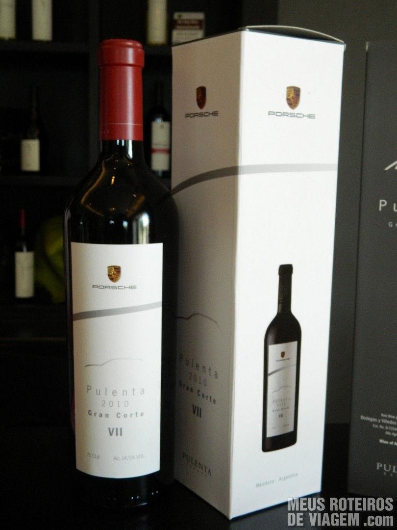 Vinho especial Porsche