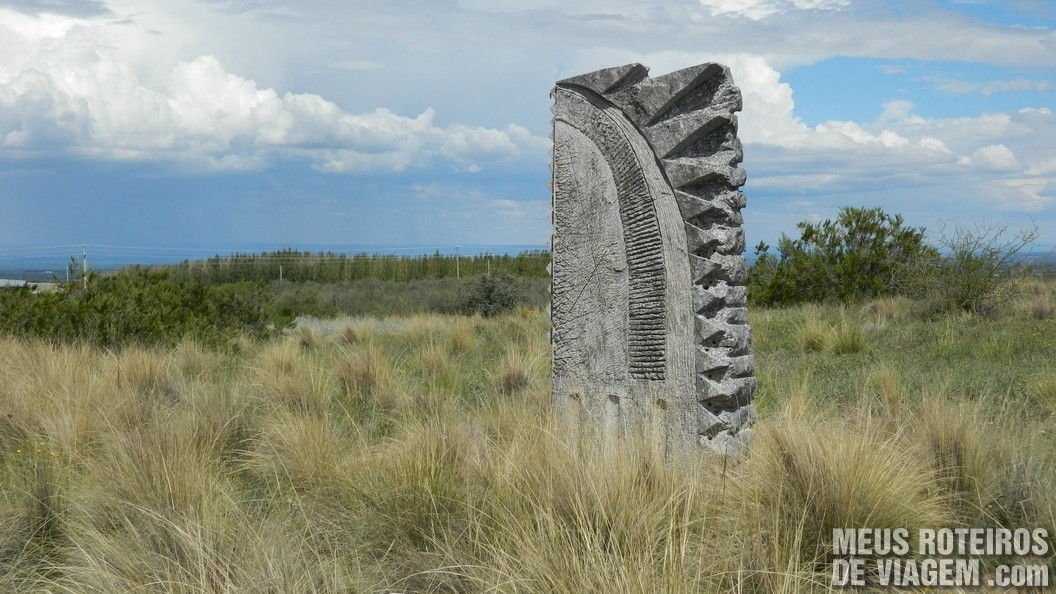 Esculturas na bodega Salentein - Mendoza, Argentina