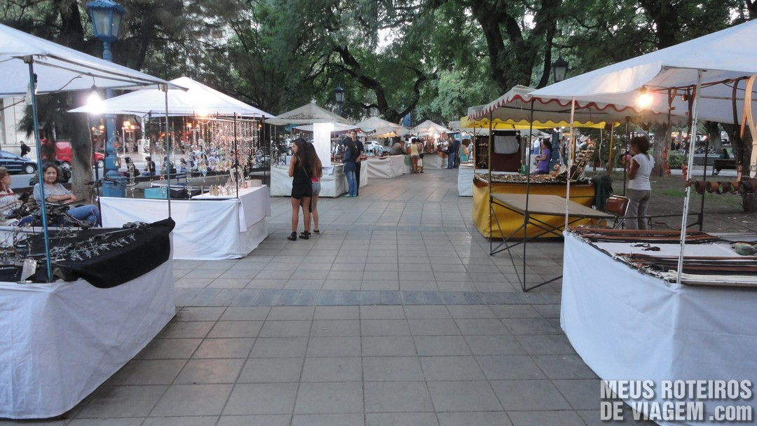 Plaza Independencia - Mendoza, Argentina