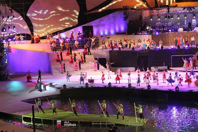 Ato Central da Festa Nacional da Vendimia 2014 (Fonte: vivivendimia.com.ar)