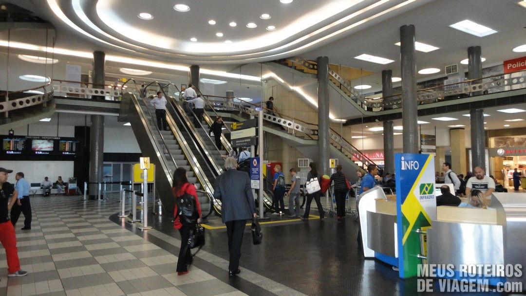Saguão do Aeroporto de Congonhas São Paulo