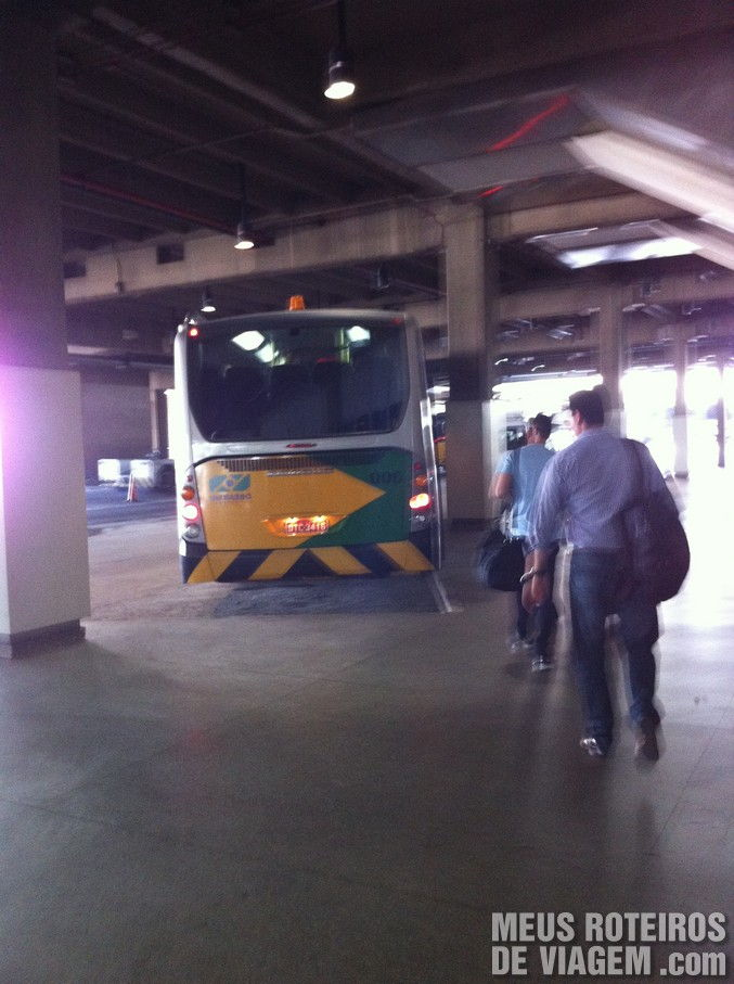 Ônibus no Aeroporto de Congonhas São Paulo