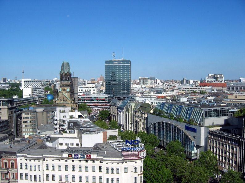 Região da Kurfurstendamm (fonte: Wikimedia Commons)