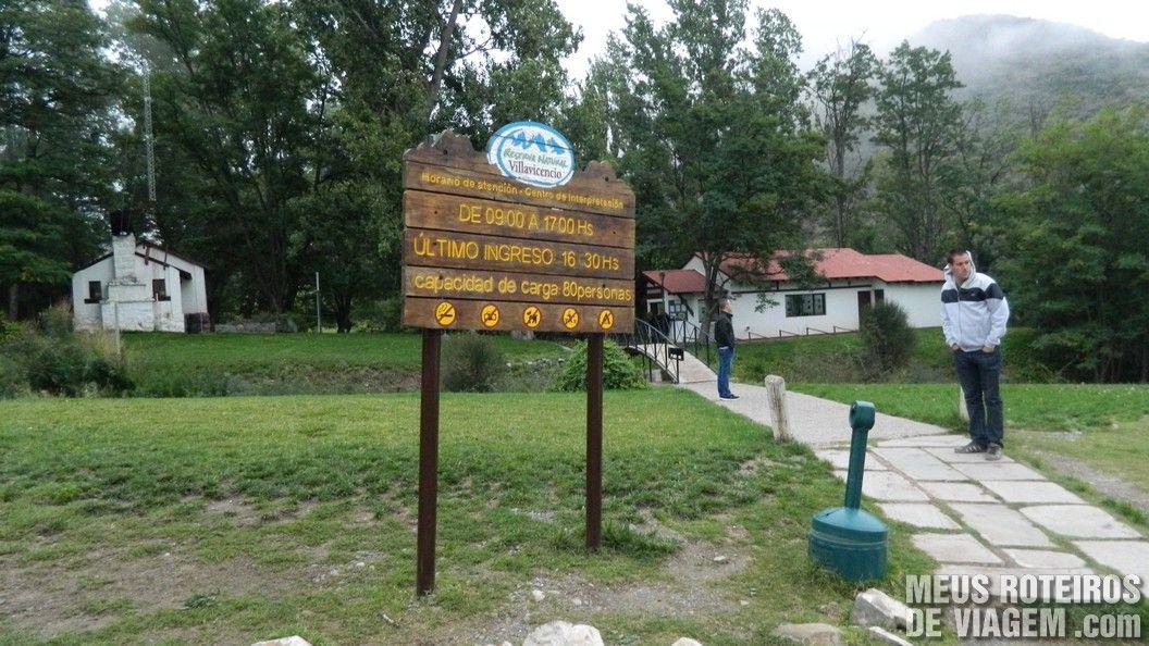 Centro de Atenção aos Visitantes - Reserva Natural Villavicencio Mendoza