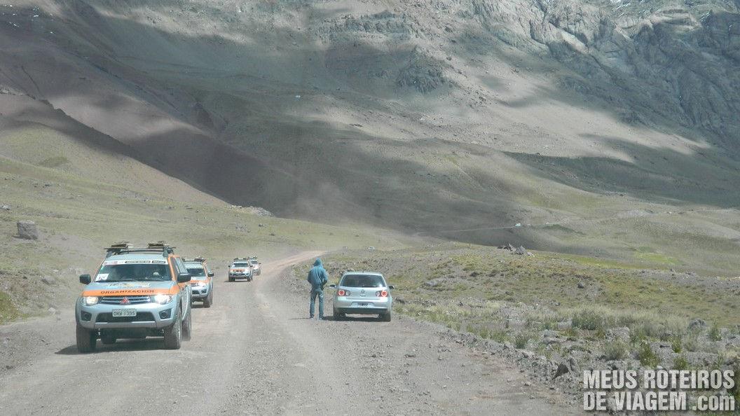 Início da estrada