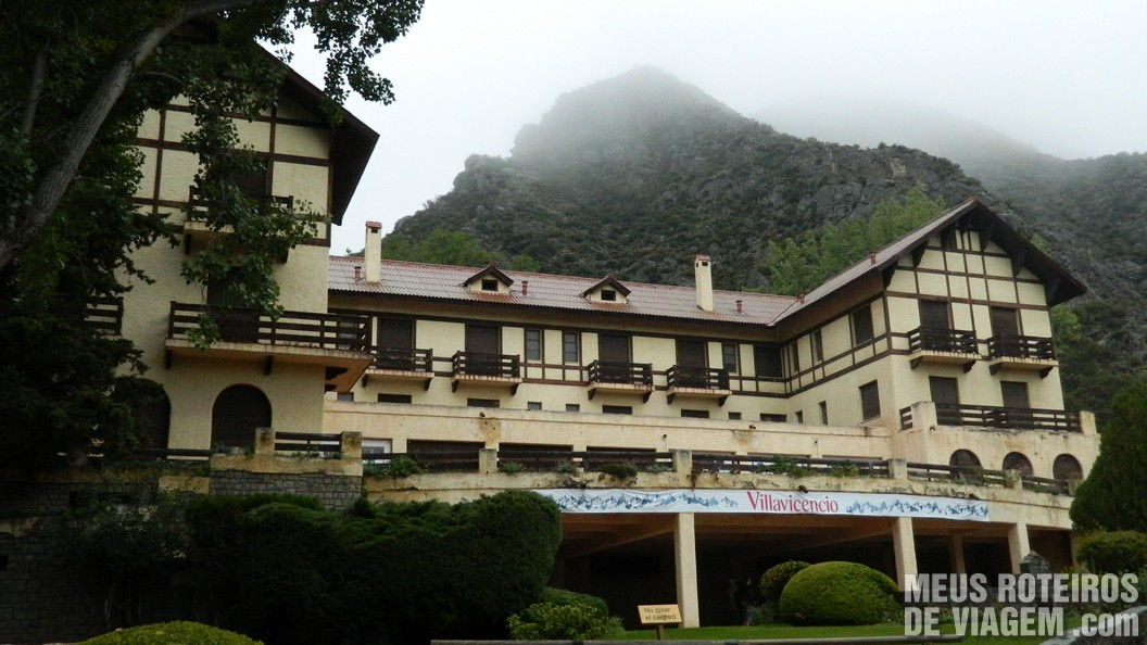 Hotel na Reserva Natural Villavicencio - Mendoza, Argentina