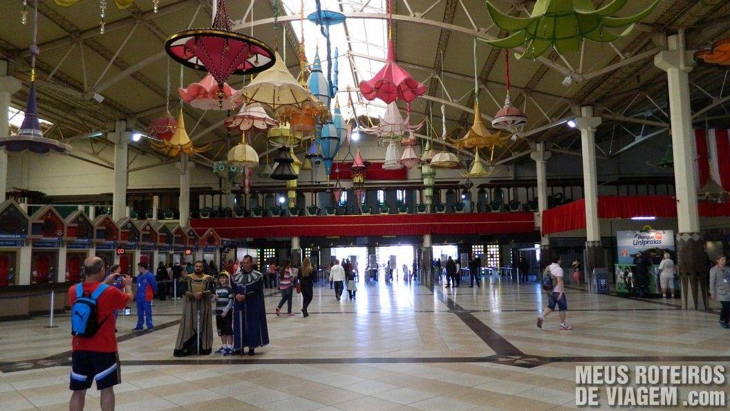 Interior do Castelo das Nações