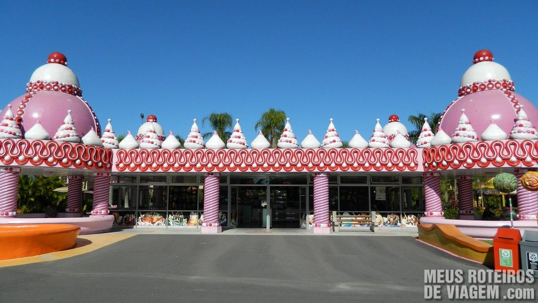 Palácio dos Sorvetes - Parque Beto Carrero World