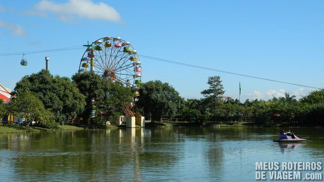 Pedalinho - Parque Beto Carrero World Penha/SC