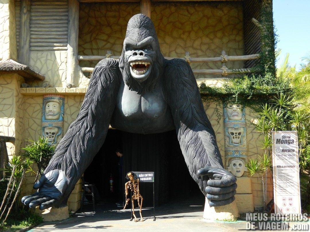 Monga, a mulher Gorila - Parque Beto Carrero World, Penha/SC