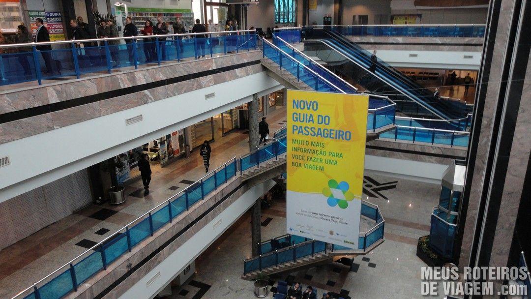 Terminal 1 do Aeroporto Salgado Filho - Porto Alegre