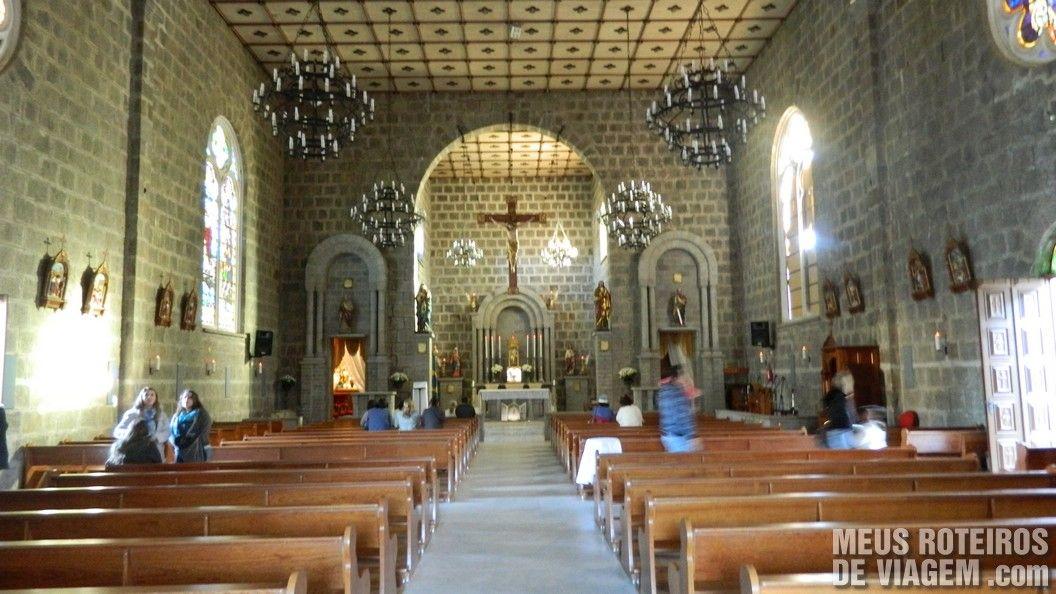 Interior da Igreja Matriz de Gramado