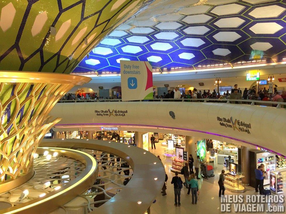 Duty Free no aeroporto de Abu Dhabi