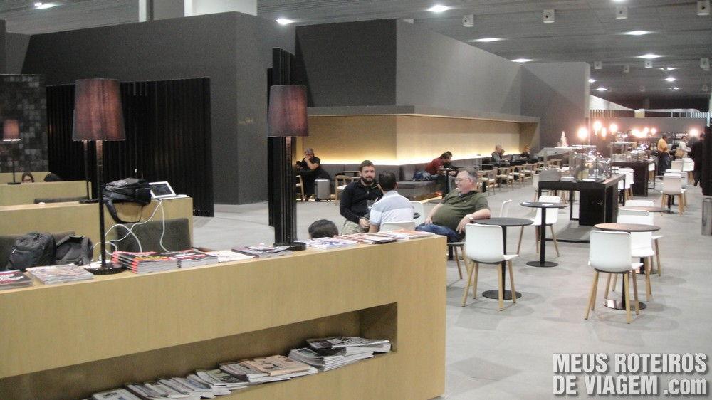 Sala VIP Executive Lounge do GRU Airport no T3