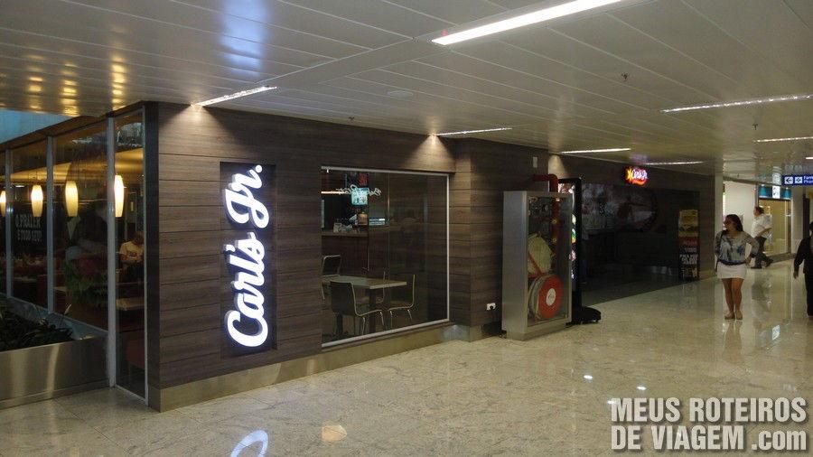 Restaurante no Terminal 3 do Aeroporto de Guarulhos