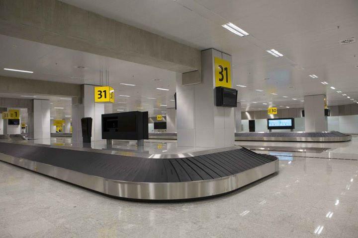 Esteiras de bagagem do Terminal 3 (Foto: Divulgação GRU Airport)