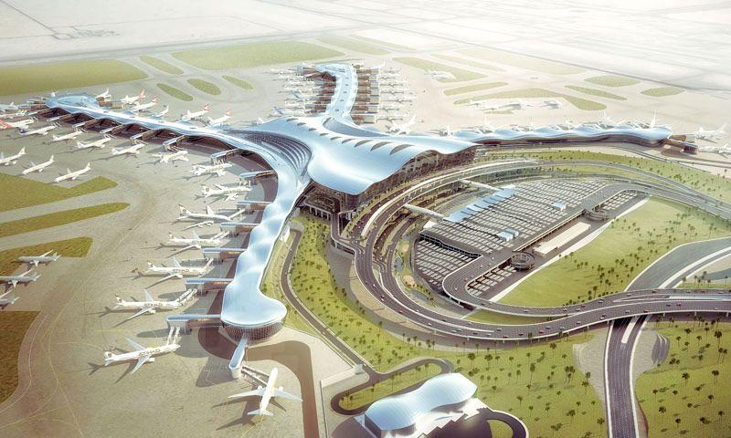 Projeto do novo terminal do Aeroporto de Abu Dhabi
