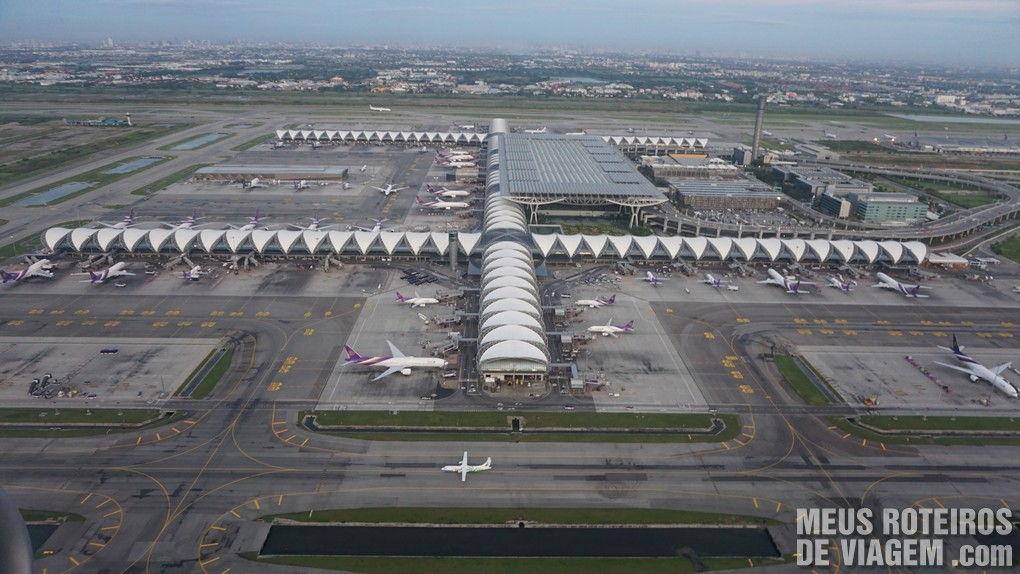Aeroporto Internacional de Bangkok - Suvarnabhumi