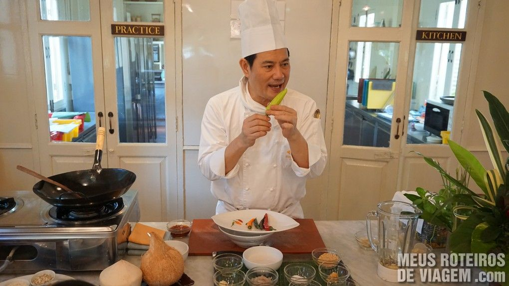 The Oriental Thai Cooking School - Mandarin Oriental Bangkok