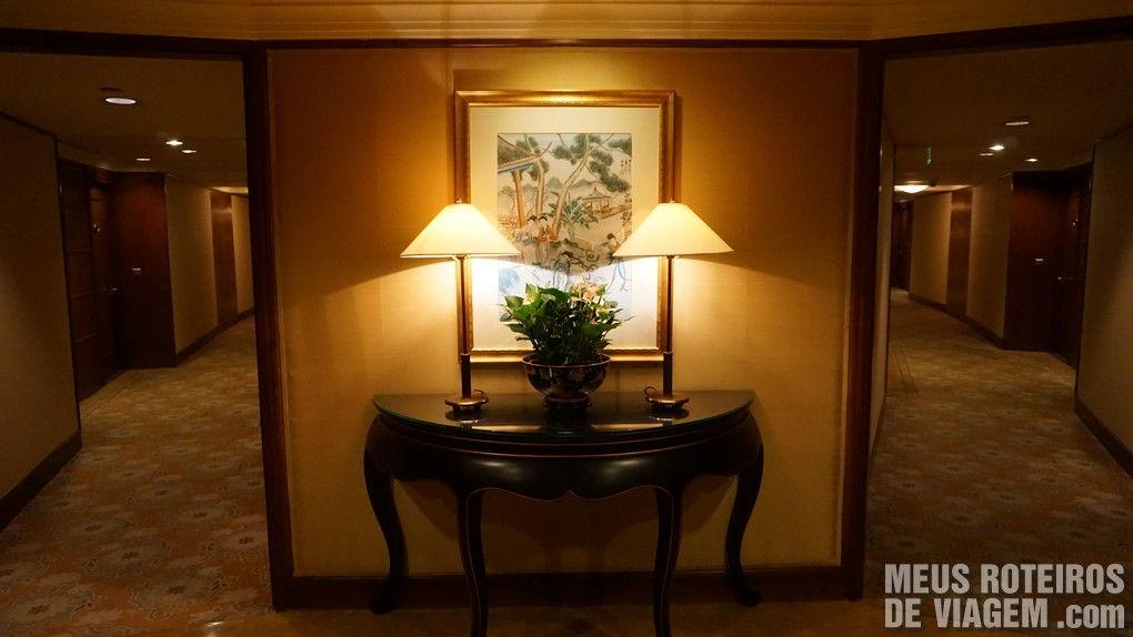 Decoração no Hotel Conrad Hong Kong