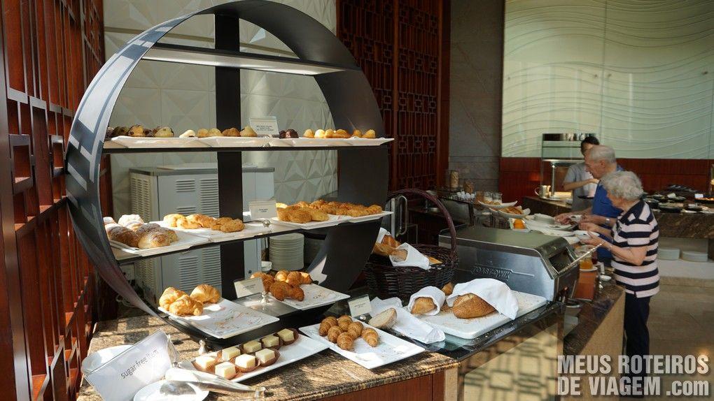 Café da manhã no Hotel Conrad Hong Kong