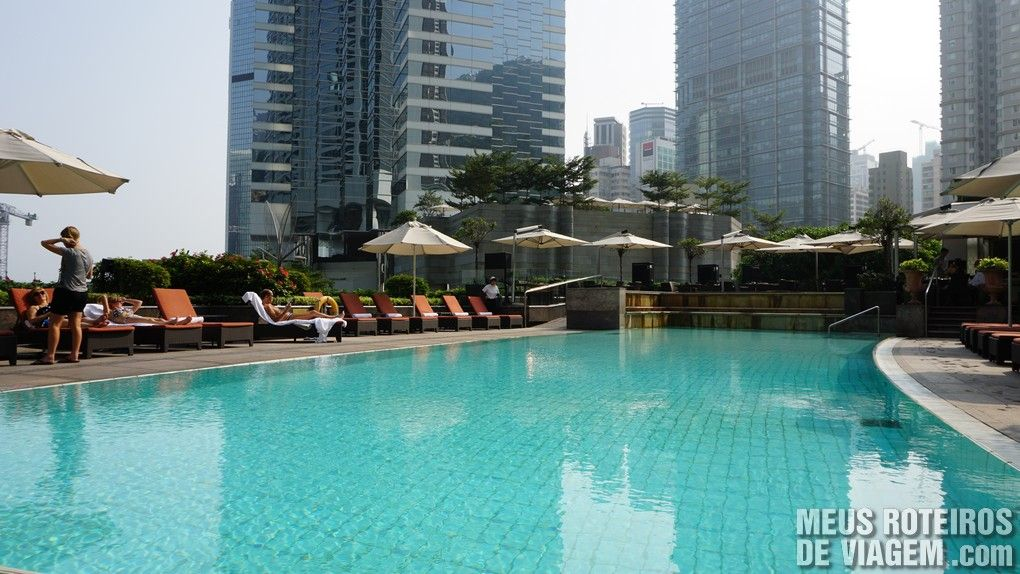 Piscina do Hotel Conrad Hong Kong