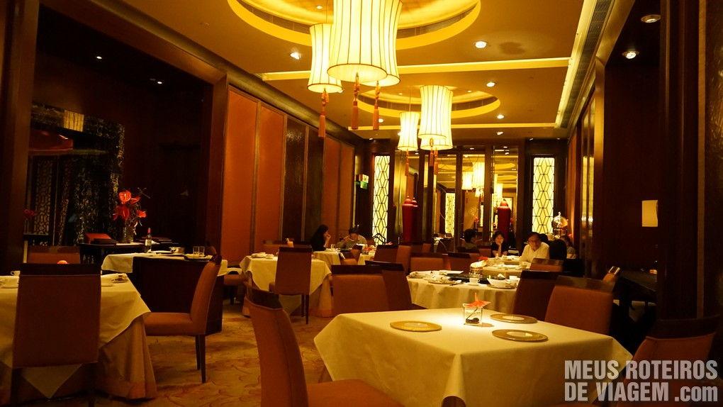 "Restaurante oriental ""The Golden Leaf"" - Hotel Conrad Hong Kong"