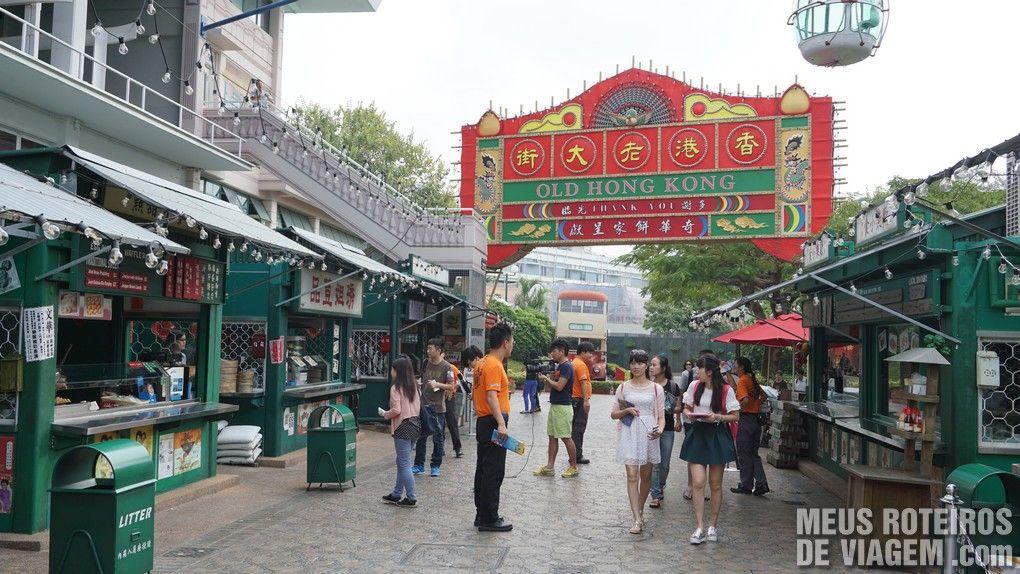 Área temática Old Hong Kong - Ocean Park