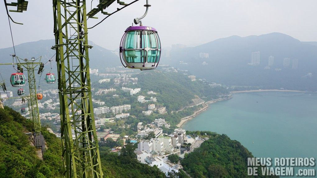 Teleférico do Ocean Park - Hong Kong
