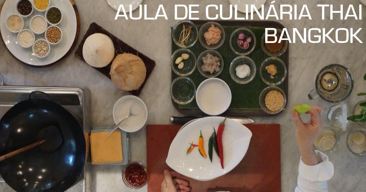 bangkok - aula de culinaria