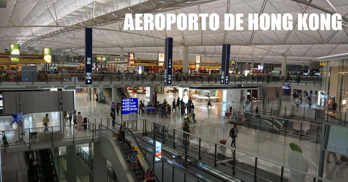 hong kong - aeroporto