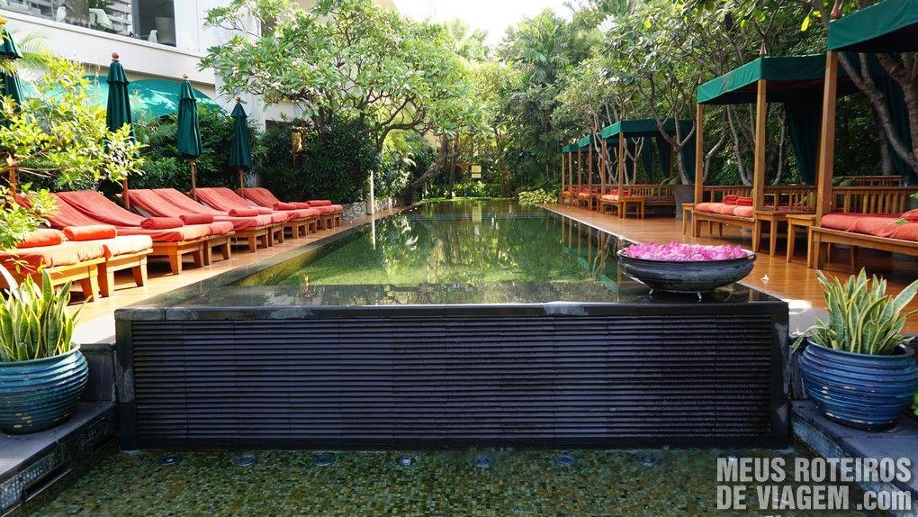 Piscina do hotel Mandarin Oriental Bangkok