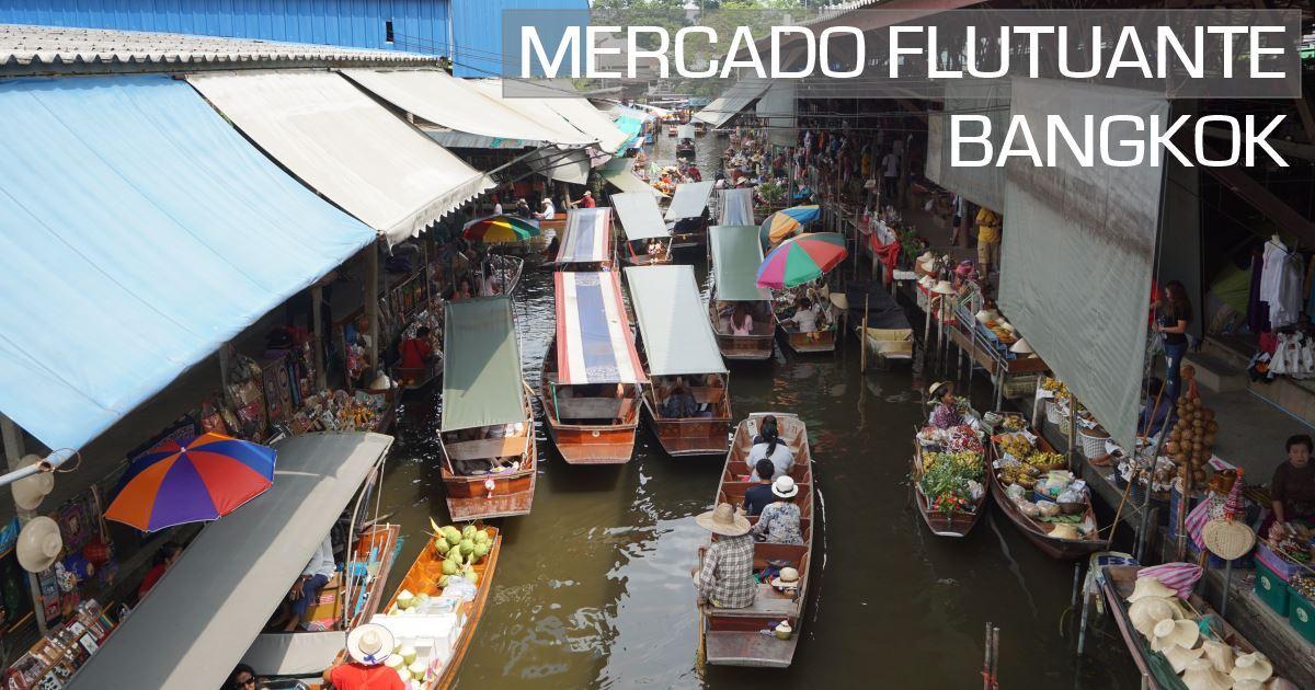 bangok - mercado flutuante