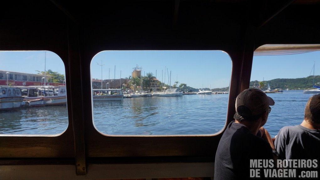 Passeio de barco para a Costa da Lagoa - Florianópolis