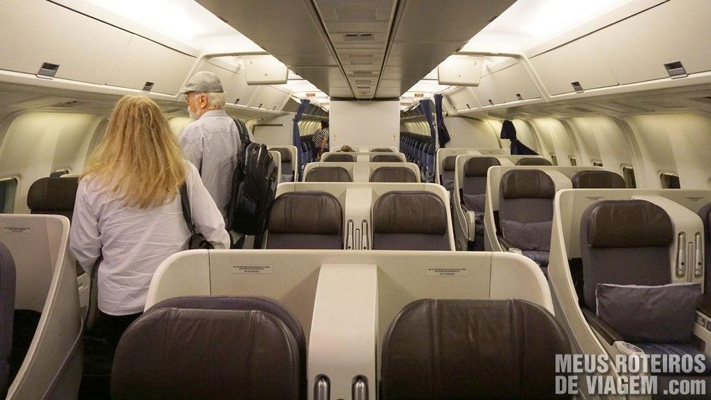 Classe Executiva da Aeromexico - Business Class