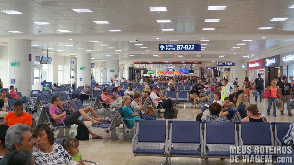 Terminal 2 do Aeroporto de Cancun
