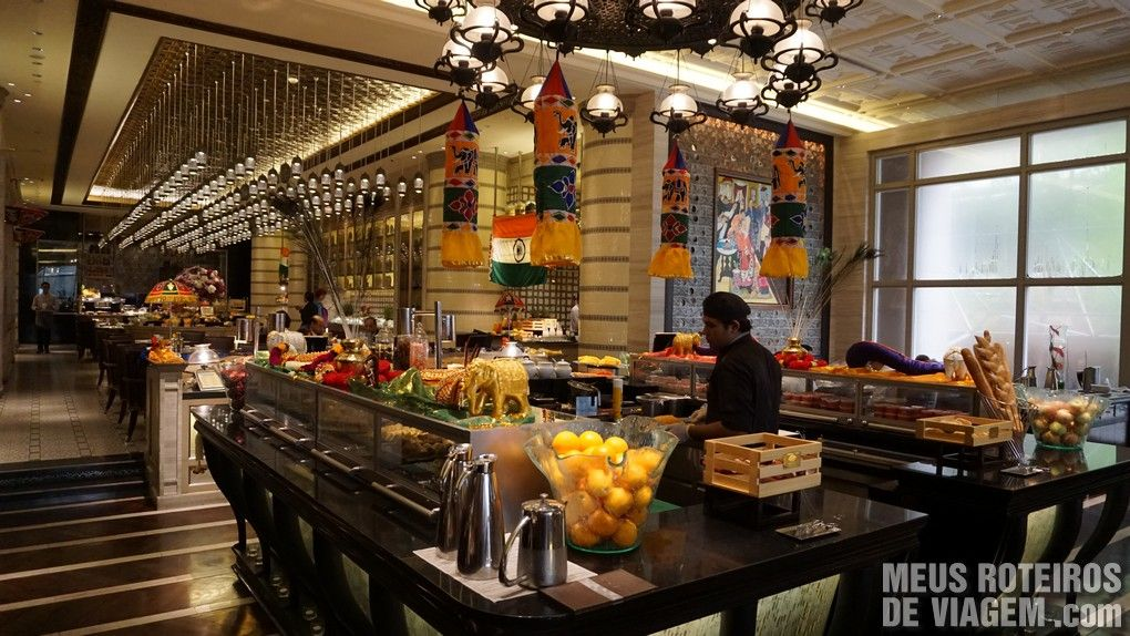 Café da manhã no Hotel Mandarin Oriental Kuala Lumpur