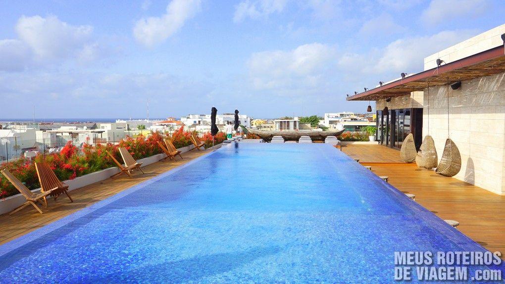 Piscina do Hotel Cacao - Playa del Carmen, Mexico