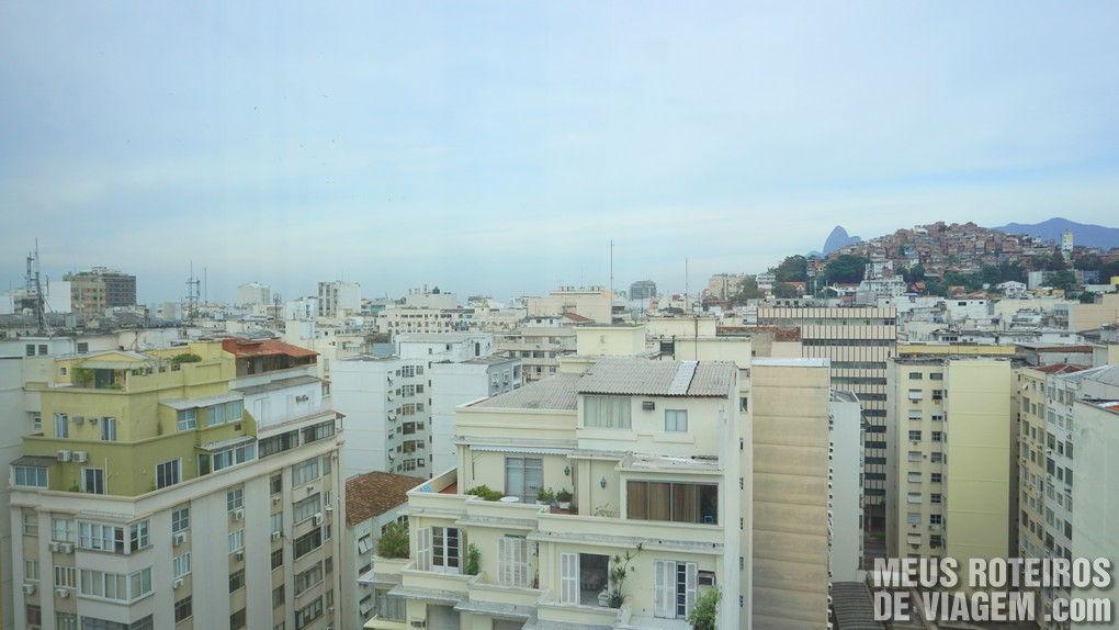 Vista do quarto no Golden Tulip Regente - Rio de Janeiro