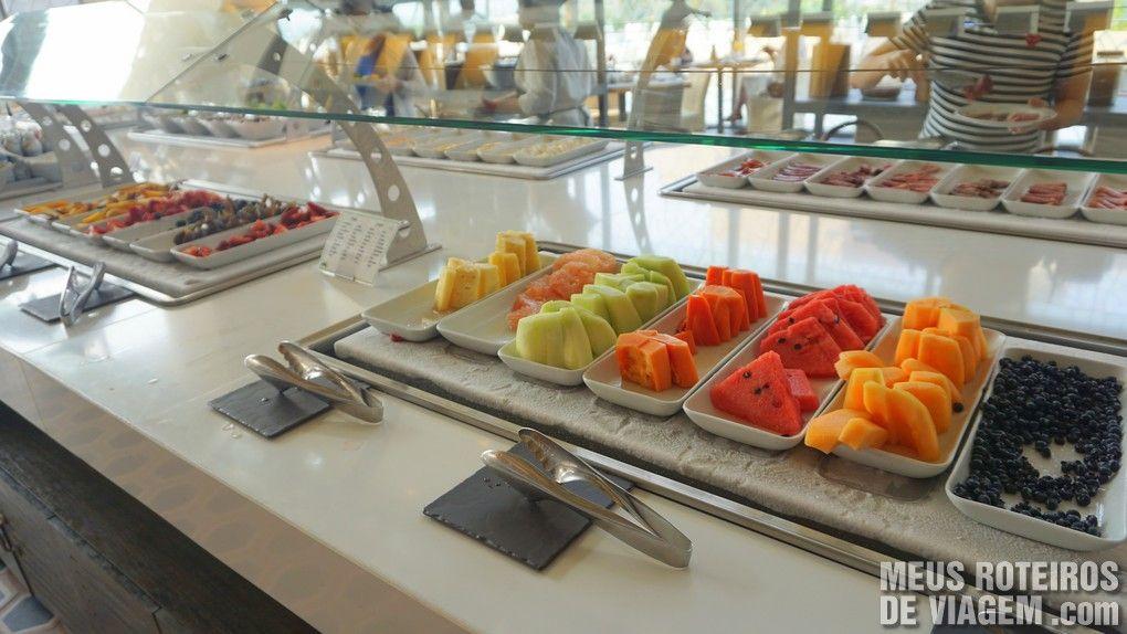Café da manhã do Hotel Secrets The Vine Cancun