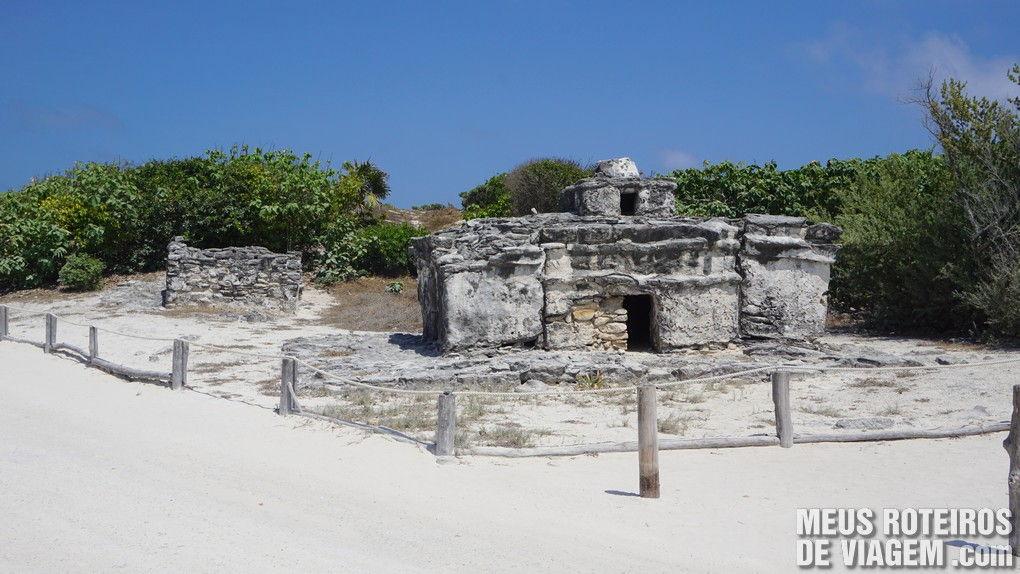 Ruínas maias no Parque Punta Sur - Cozumel, México