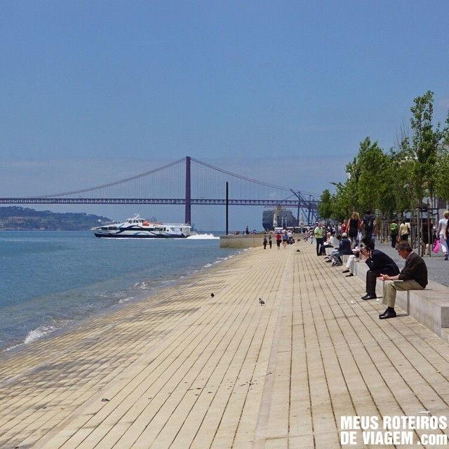 Calcadão da Ribeira das Naus - Lisboa