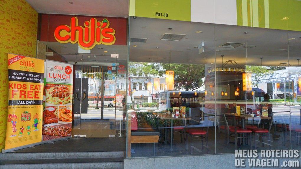Restaurante Chilli's - Clarke Quay, Cingapura