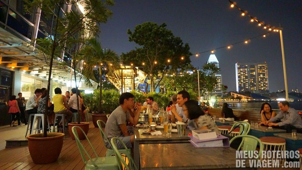 Restaurante OverEasy - Cingapura