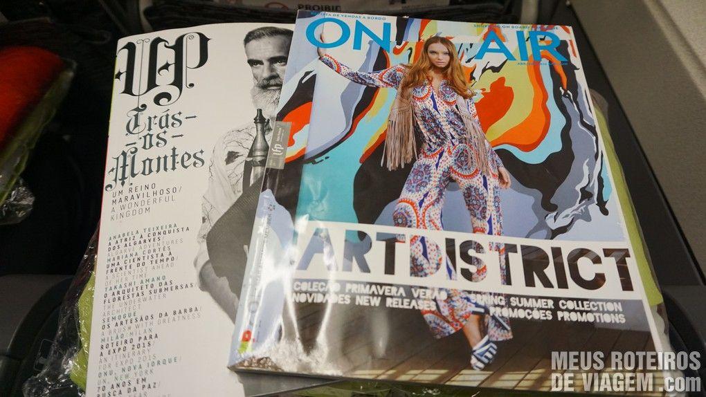 Revistas de bordo - TAP Portugal