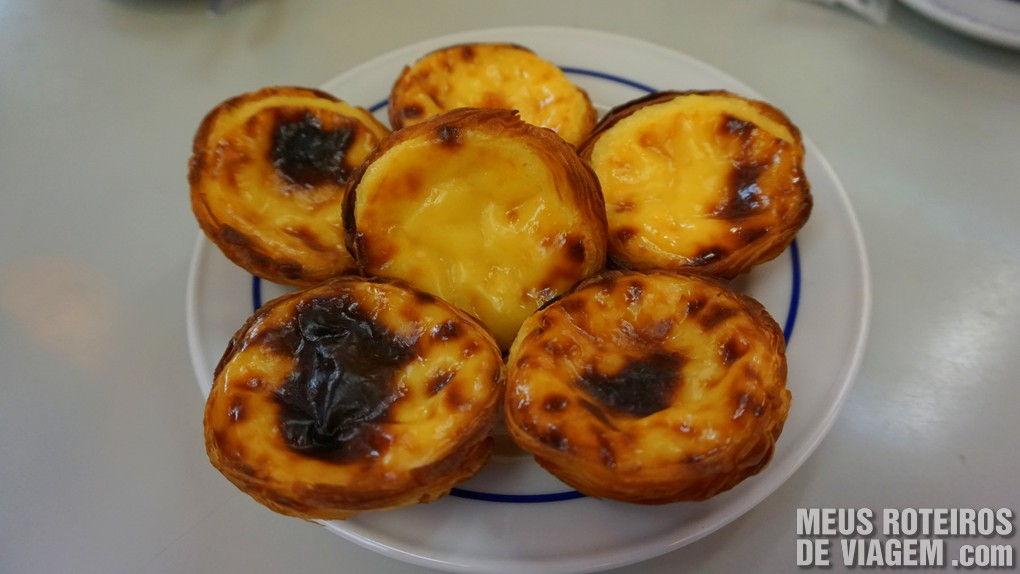 Os autênticos e tradicionais Pastéis de Belém - Lisboa, Portugal