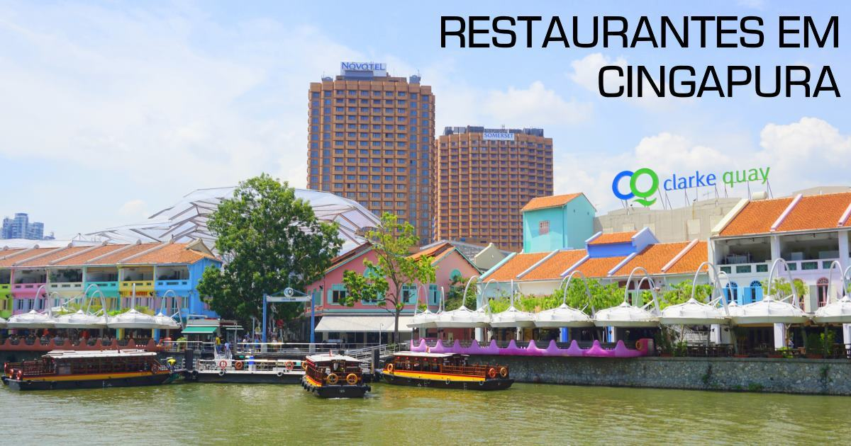 cingapura - restaurantes