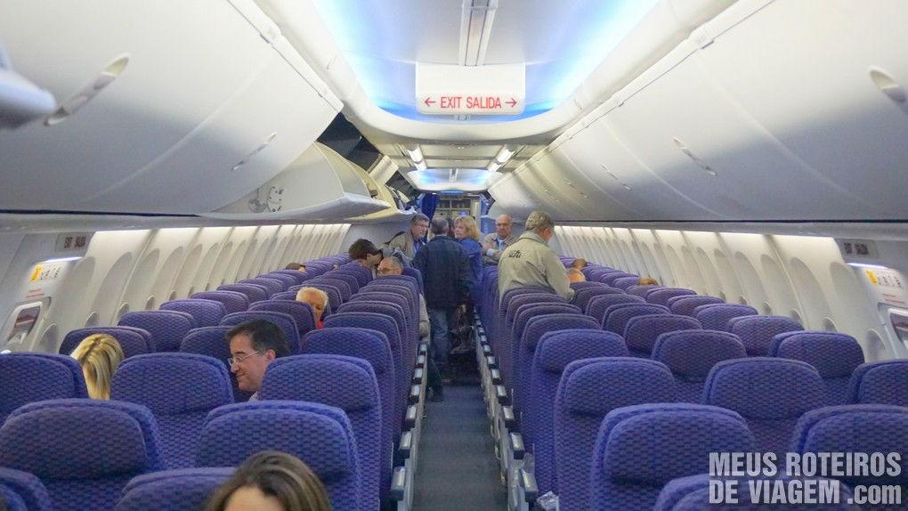 Boeing 737-800 Sky Interior da Copa Airlines