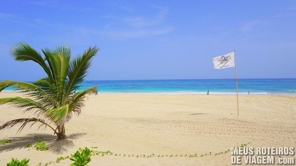 Praia do hotel Hard Rock Punta Cana